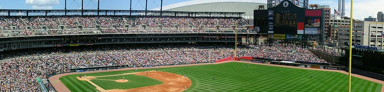 Comerica Park Tickets - Maps and Seating Charts for Comerica ...