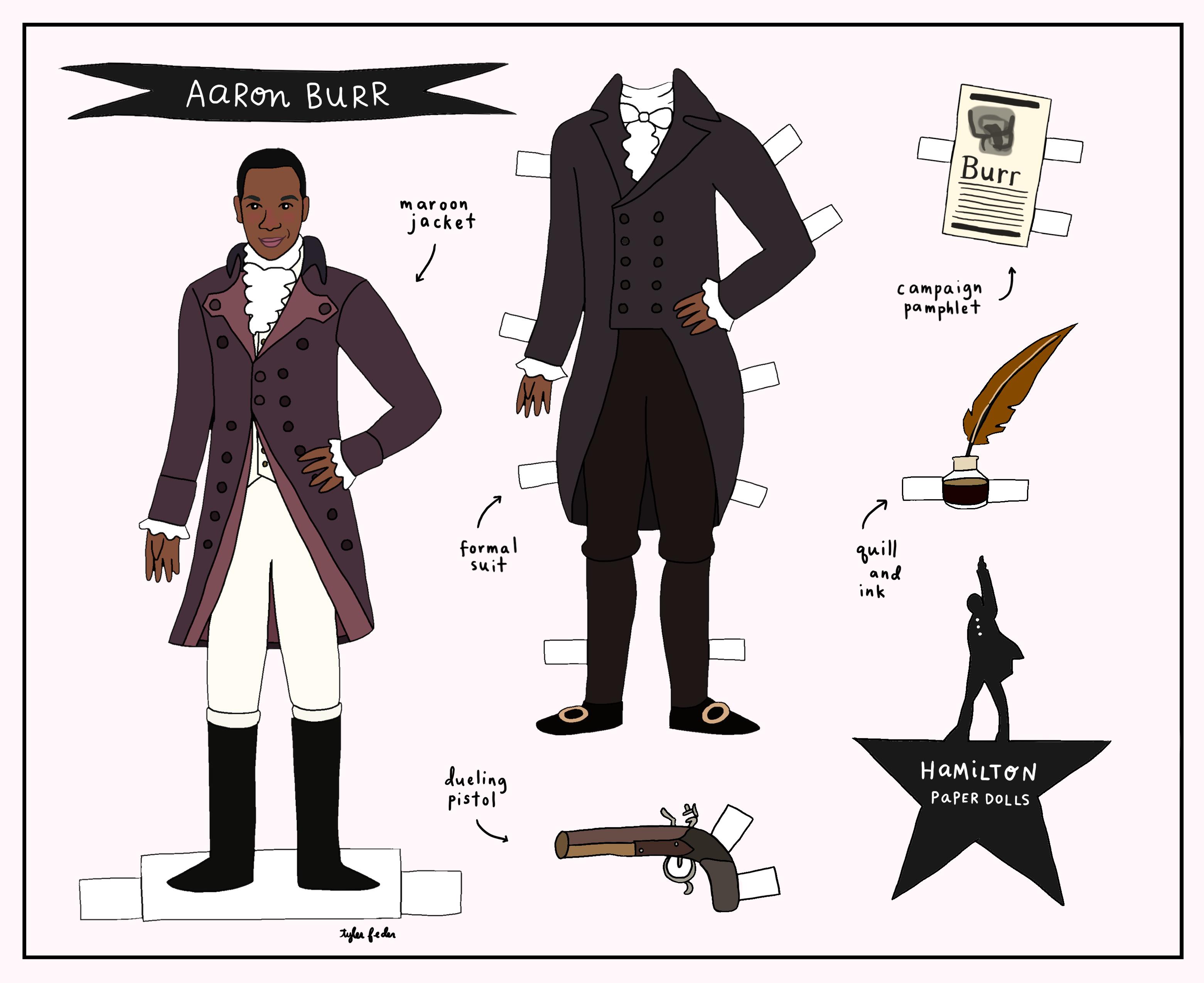 Alexander Hamilton vs. Aaron Burr