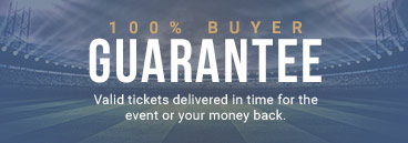 100% Buyer Guarantee. Valid Tickets delivered in time or your money back