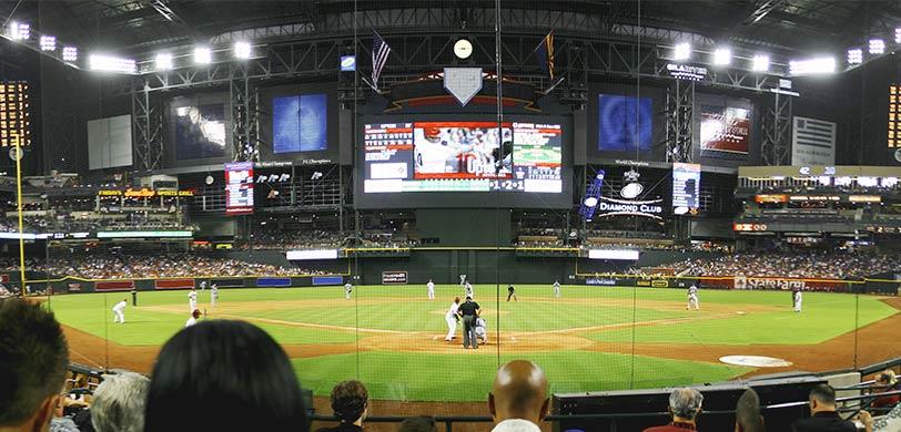 Chase Field Baseball Stadium Home of the Arizona Diamondbacks
