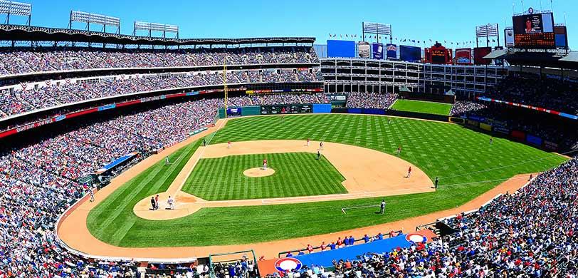 Map Of Texas Rangers Stadium.Texas Rangers Tickets 2019 Vivid Seats