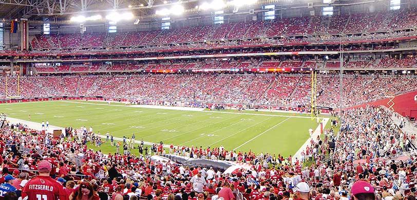 Arizona cardinals tickets vivid seats for Mercedes benz of denver glendale co