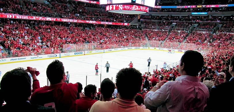 image about Washington Capitals Schedule Printable known as Washington Capitals (Caps) Tickets 2019-20 Brilliant Seats