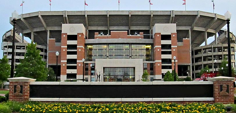 Bryant Denny Stadium Tickets Information Seating Chart